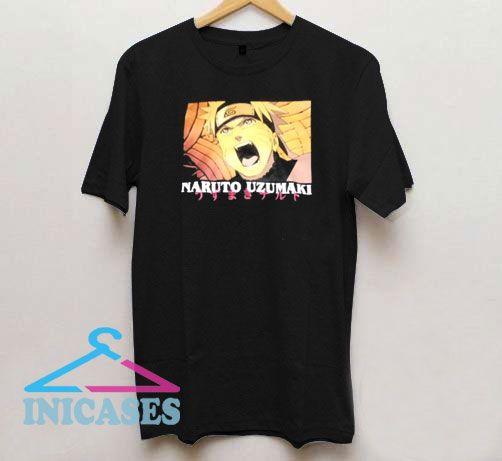 Angry Naruto Uzumaki Anime T Shirt