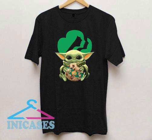 Baby Yoda Hug Girl Scout T Shirt