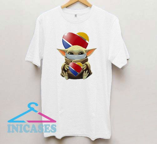 Baby Yoda Mask Hug Southwest T Shirt