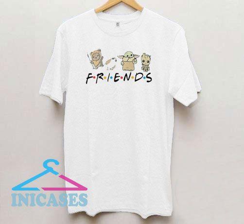 Baby Yoda a Little Friends T Shirt