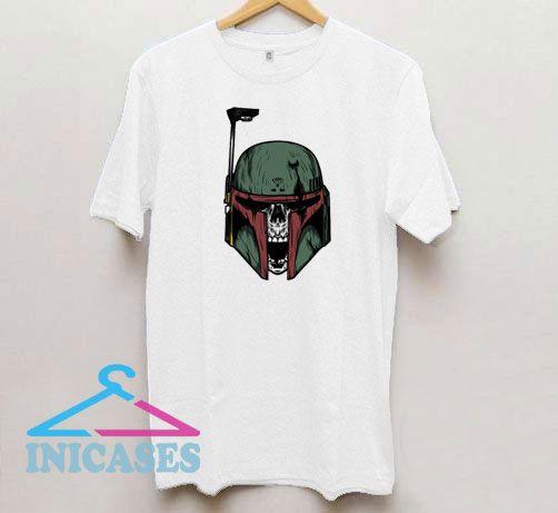 Boba Fett Skulled T Shirt