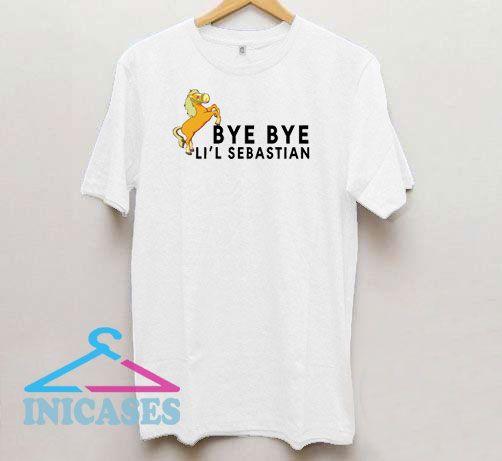 Bye Bye Lil Sebastian Graphic T Shirt