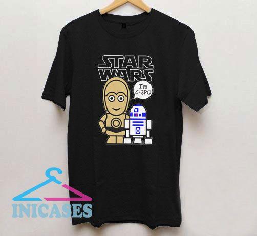 C3po R2d2 Star Wars Movie T Shirt
