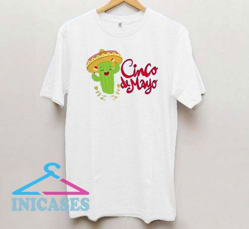 Cinco de Mayo Cactus Mexican T Shirt