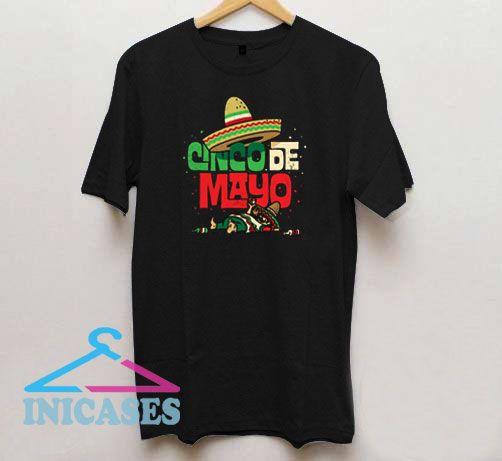 Cinco de Mayo Mexican Sombrero T Shirt