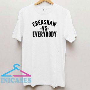 Crenshaw VS Everybody T Shirt