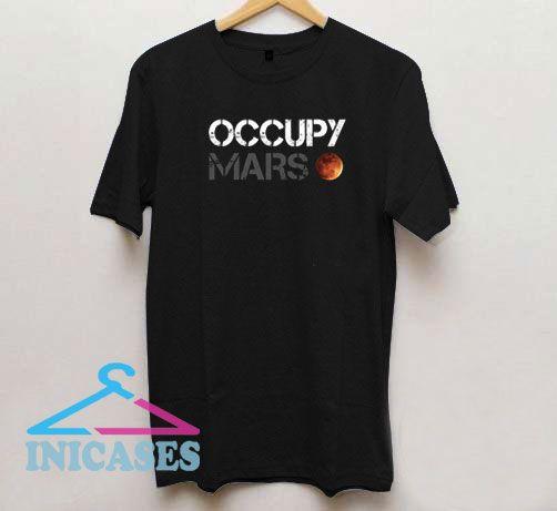 Elon Musk Occupy Mars T Shirt