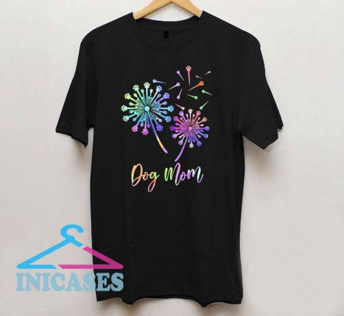 Fireworks Dog Mom T Shirt