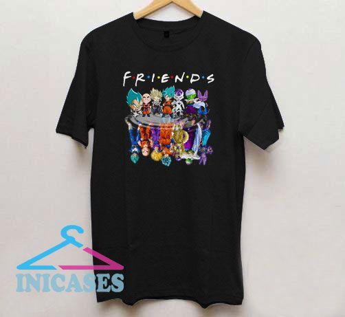 Friends Dragon Ball Z T Shirt