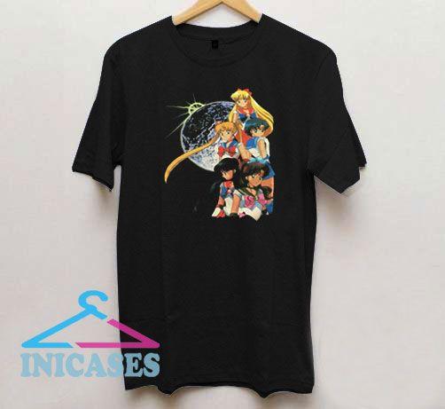 Friendship Vintage Sailor Moon T Shirt