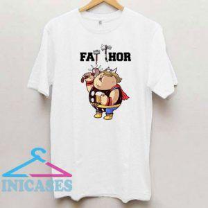 Funny Cute Fat Thor Marvel T Shirt