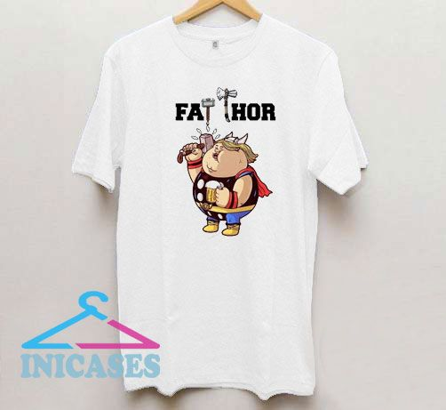 Funny Cute Fat Thor Marvel T Shirt