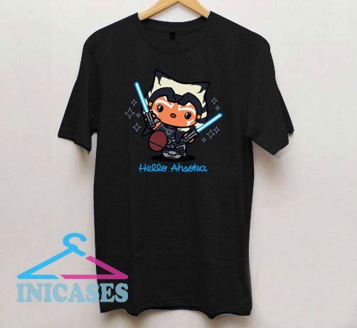 Hello Ahsoka Kawaii T Shirt