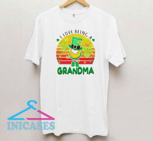 I Love Being a Grandma Vintage T Shirt
