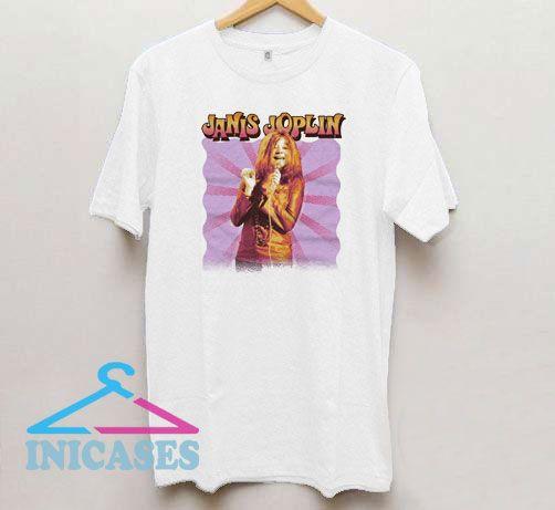 Janis Joplin Smile T Shirt