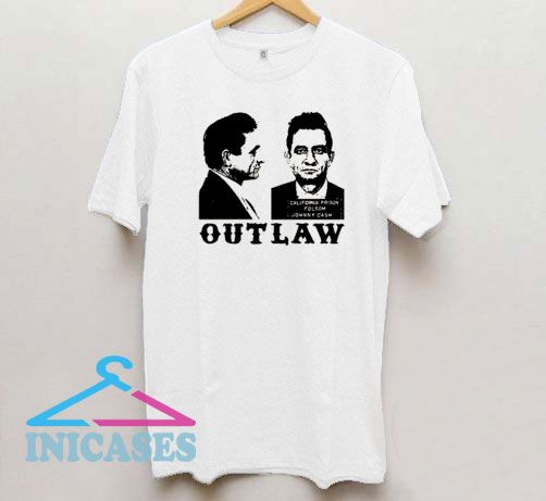 Johnny Cash Outlaw T Shirt