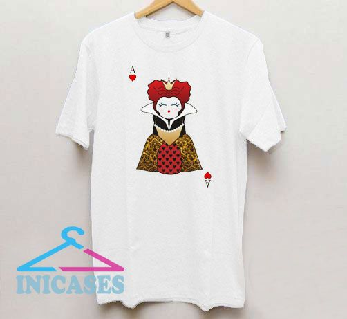 Kokeshi Card Queen of Hearts T Shirt