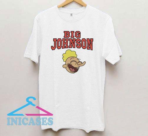 Laughing Big Johnson T Shirt