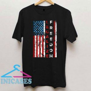 Legalize Freedom American Flag T Shirt