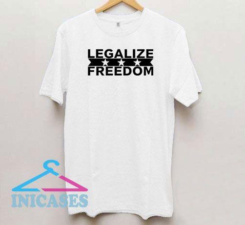 Legalize Freedom Logo T Shirt