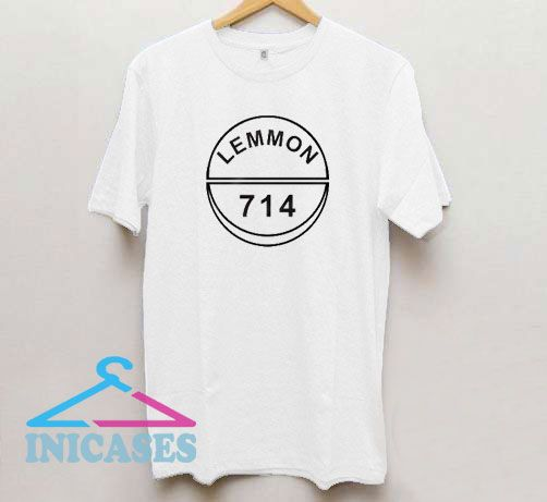 Lemmon 714 Line Logo T Shirt