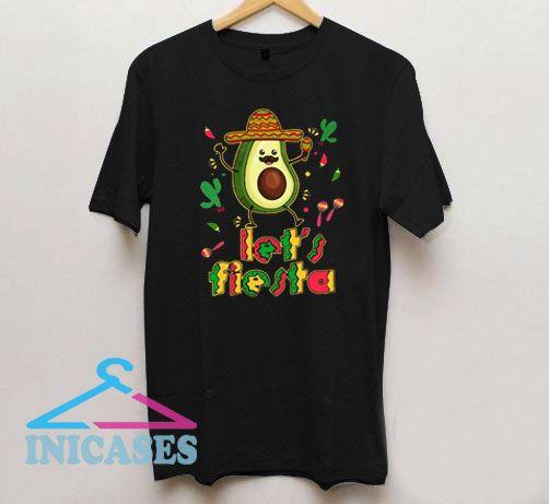 Lets Fiesta Avocado Cinco De Mayo T Shirt