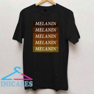 Melanin Black Pride T Shirt