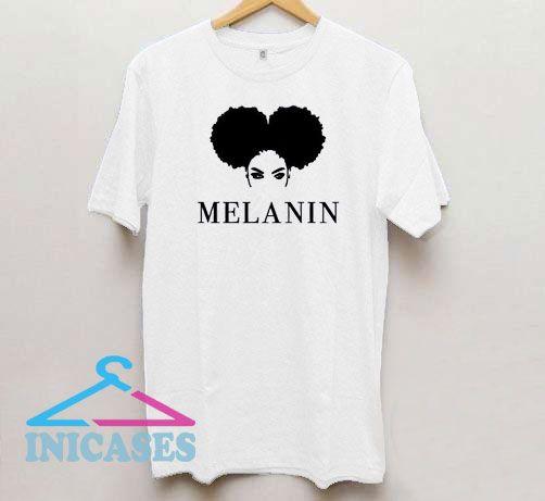 Melanin Women Art T Shirt