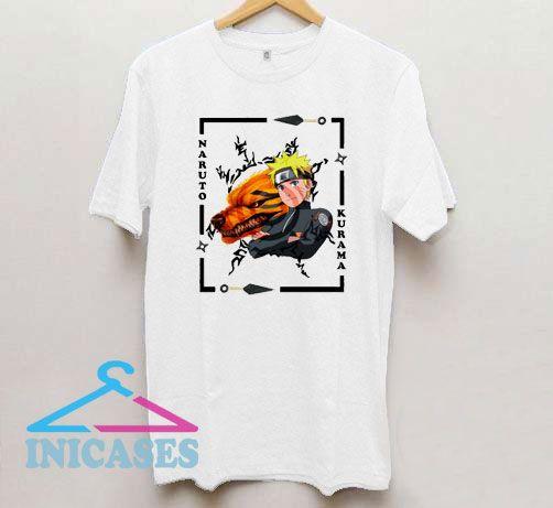 Naruto Kurama Graphic T Shirt