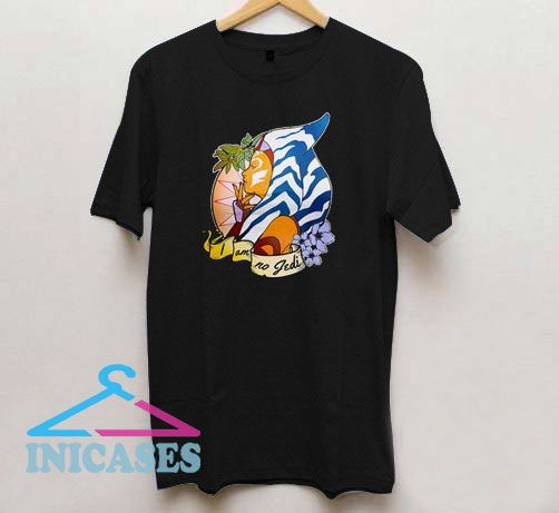 NoJedi Star Wars Ahsoka Tano T Shirt