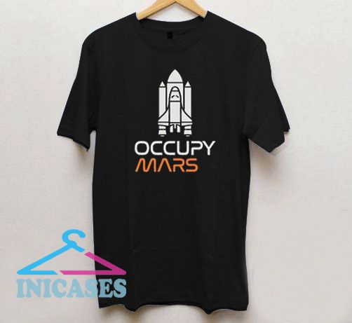 Occupy Mars Male Rocket T Shirt