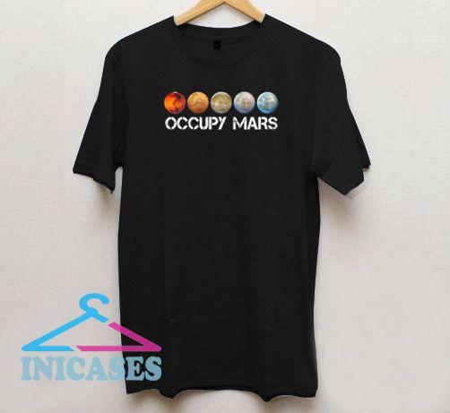 Occupy Mars Terraform T Shirt