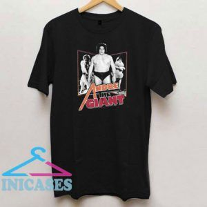 Official Andre The Giant T Shirt