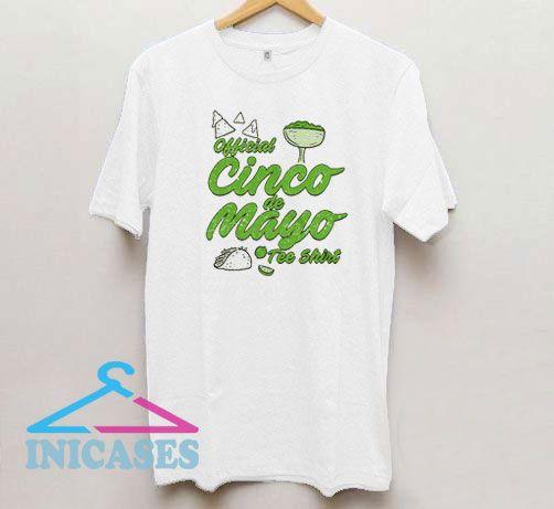 Official Cinco de Mayo Funny Taco Mexico Drinking T Shirt