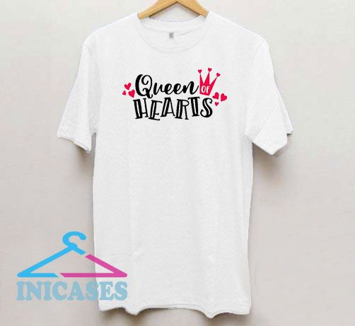 Official Queen Of Hearts T Shirt
