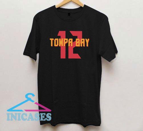 Official Tompa Bay 12 T Shirt