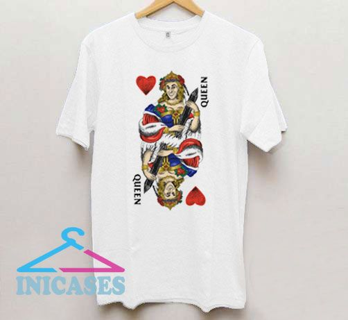 Queen Of Hearts Graphic T Shirt