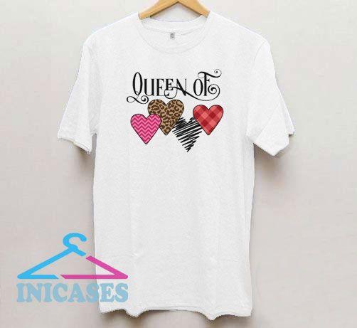 Queen of Hearts Aesthetic T Shirt