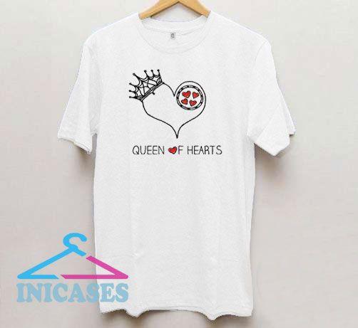 Queen of Hearts Crown T Shirt