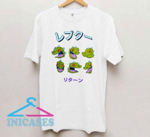 Reptar Rugrats Japanese T Shirt