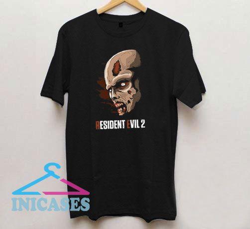Resident Evil 2 Zombie Face T Shirt