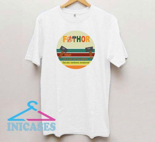 Retro Fathor T Shirt