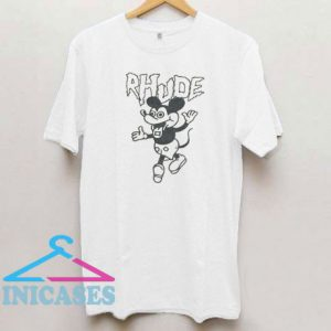 Rhude Mickey Mouse Funny T Shirt