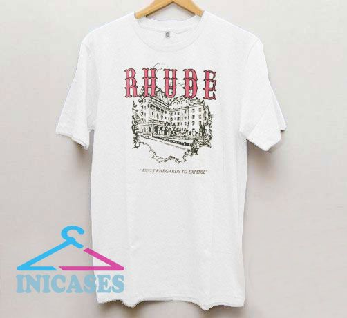Rhude Museum Without Rhegards To Expense T Shirt