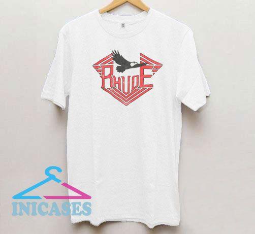 Rhude Red Logo T Shirt