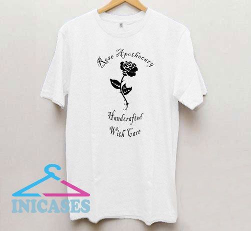 Rose Apothecary Handcrafted T Shirt