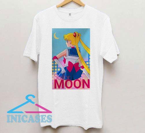 Sailor Moon 90s Poster T Shirt