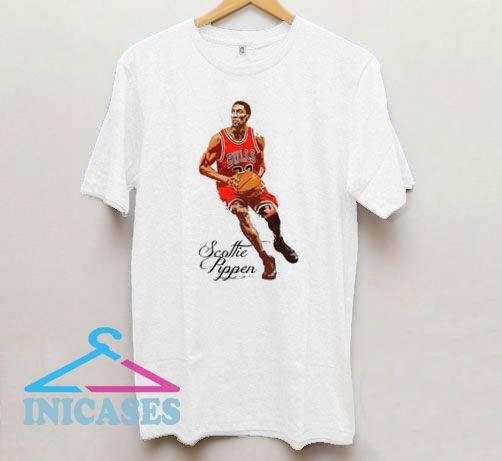 Scottie Pippen Chicago Basketball T Shirt