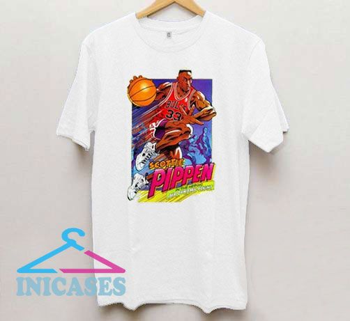 Scottie pippen air more uptempo red T Shirt