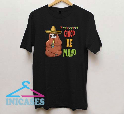 Sloth Cinco de Mayo T Shirt